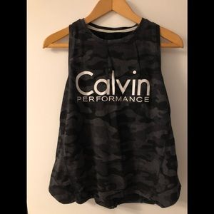 Calvin Klein Performance Logo Tank Top